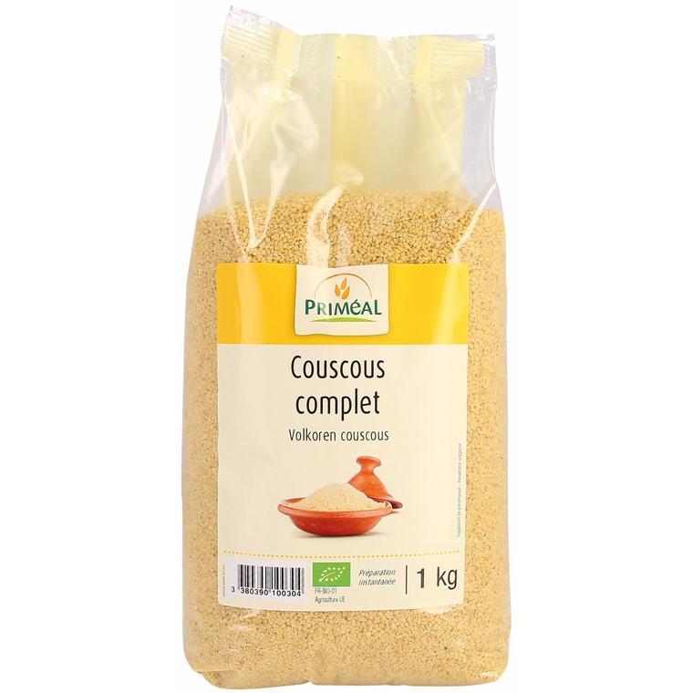 Couscous complet bio en sachet de 1 kg