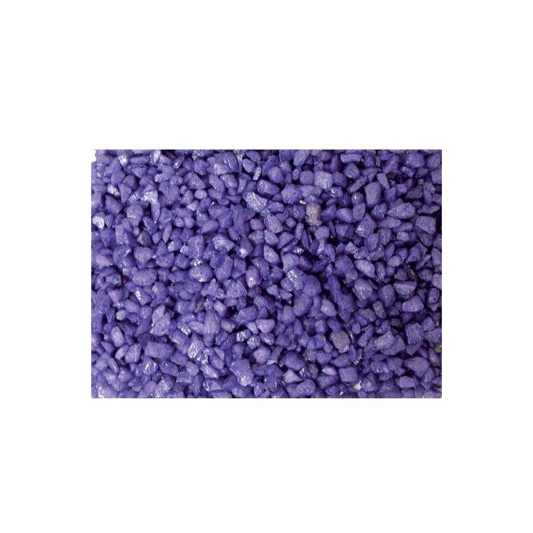 Gravier enrobé fluo violet Girard