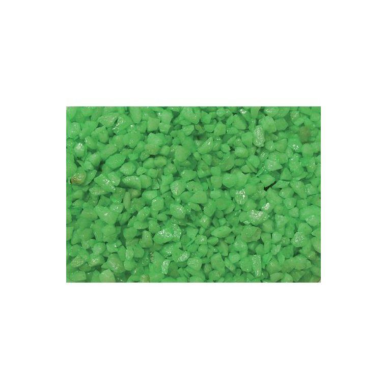 Gravier enrobé fluo vert Girard