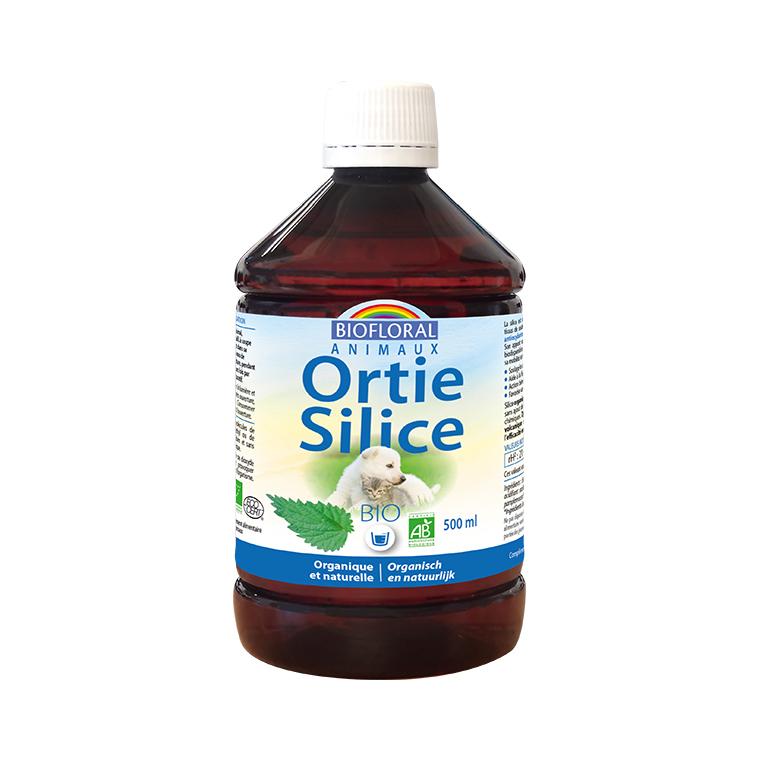 Complément alimentaire ortie silice pour animaux 500 ml