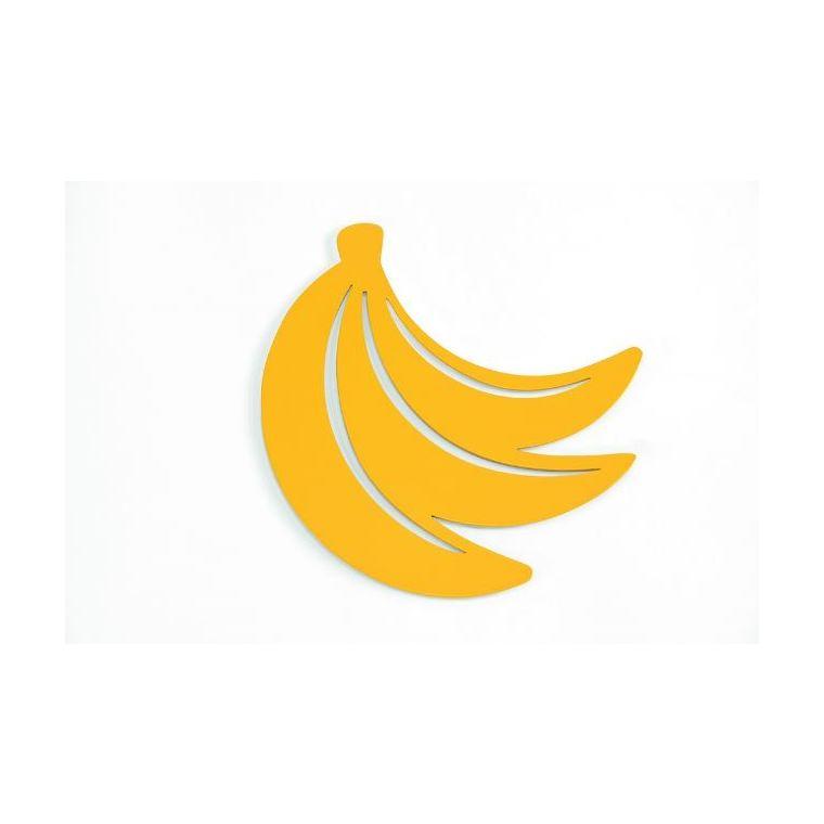 Dessous de plat bananes jaune