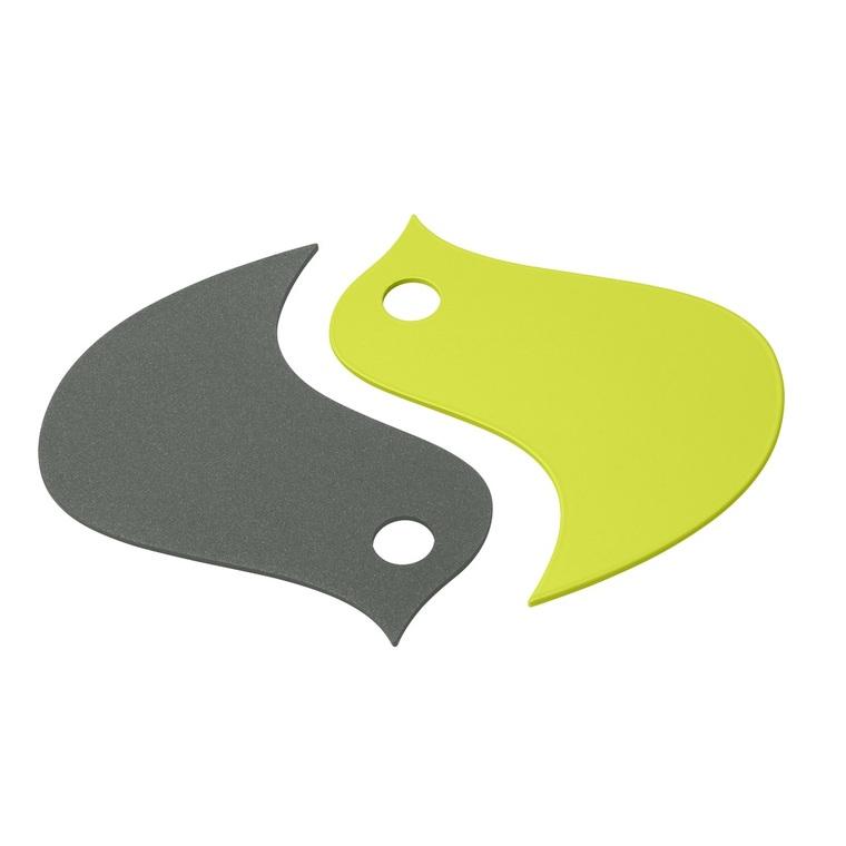 Dessous de plat oiseau vert
