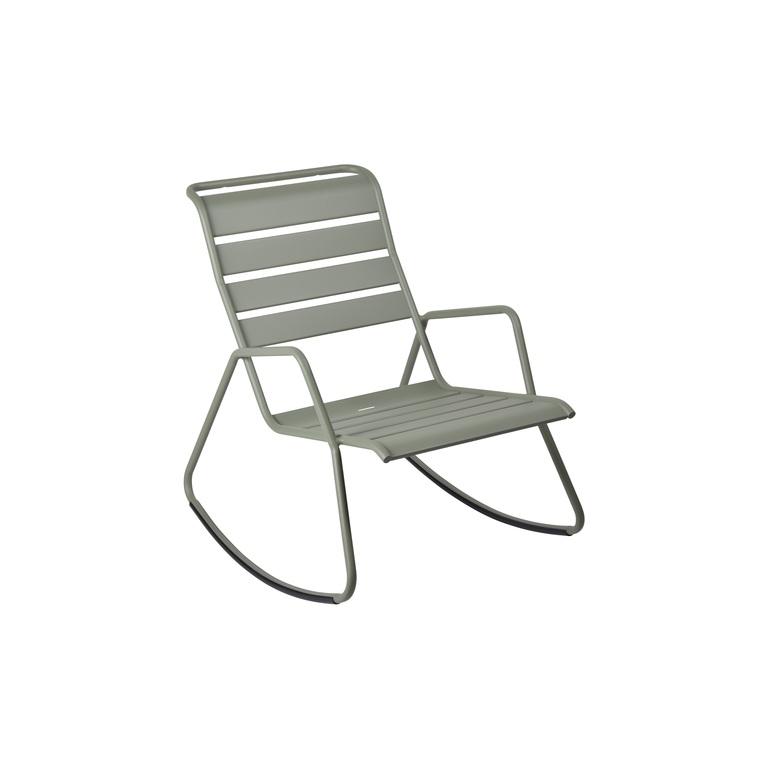 Rocking chair Monceau vert