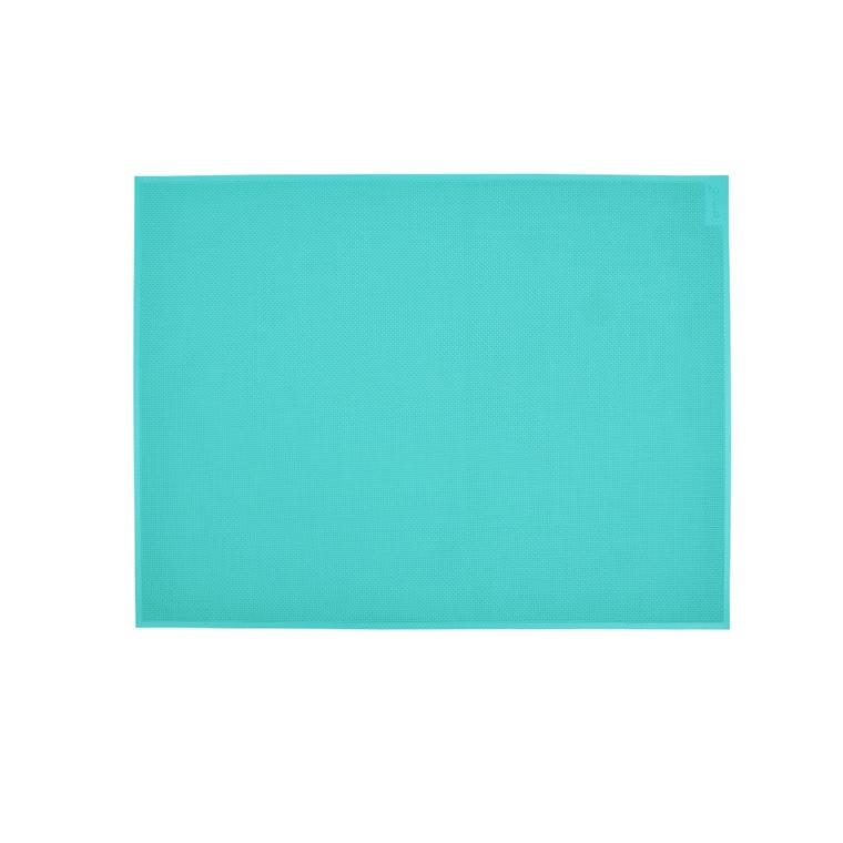 Set de table bleu lagune