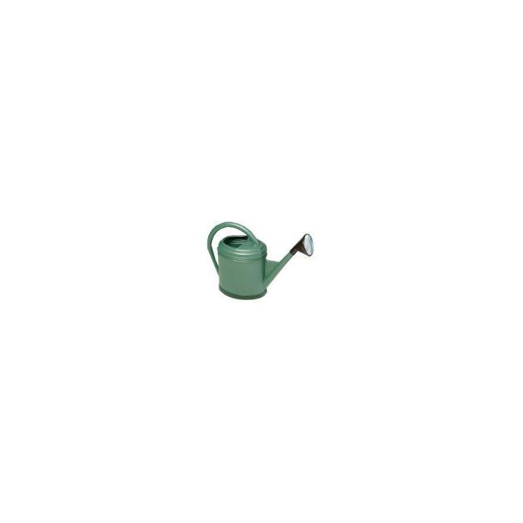 Arrosoir ovale Luxe couleur vert métal – 12 L