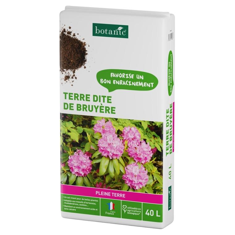 Terre dite de Bruyère 40 L
