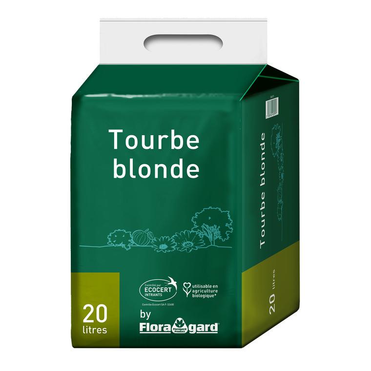 Tourbe blonde 20 L