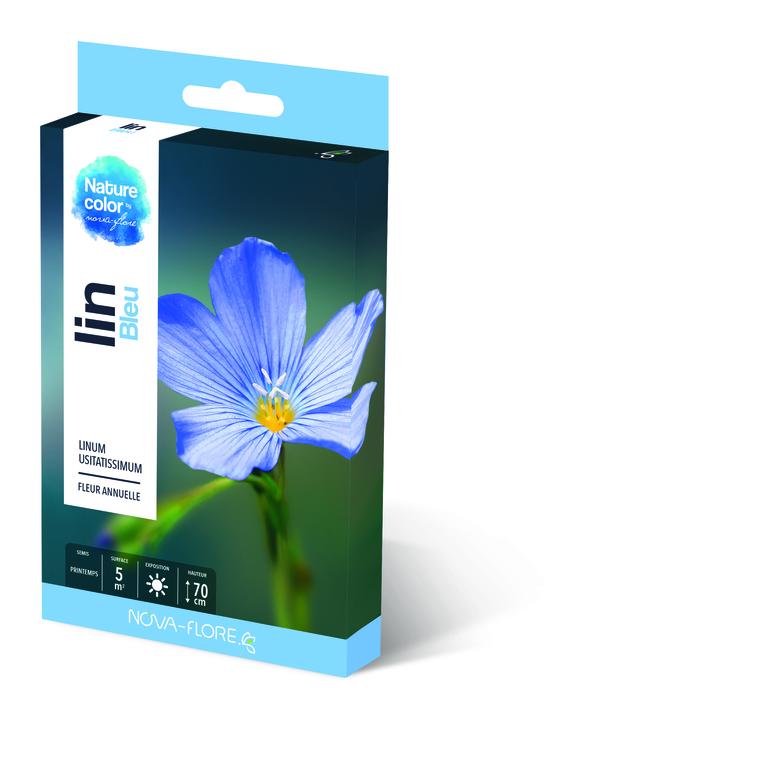Semences pour lin bleu – 5 m2