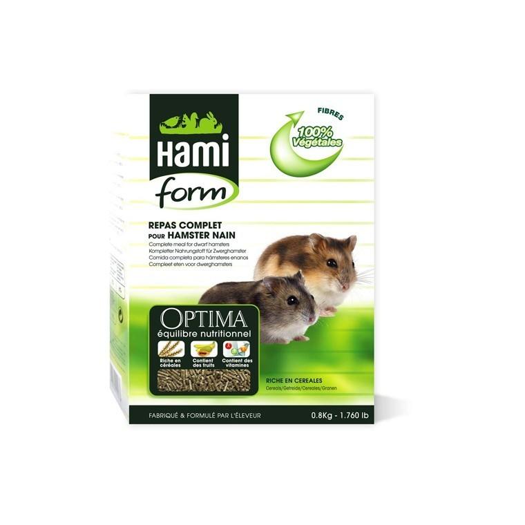 Repas complet hamster nain Hamiform 800 g