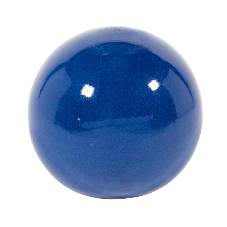 Boule de décoration Stockholm diam.25 cm bleu