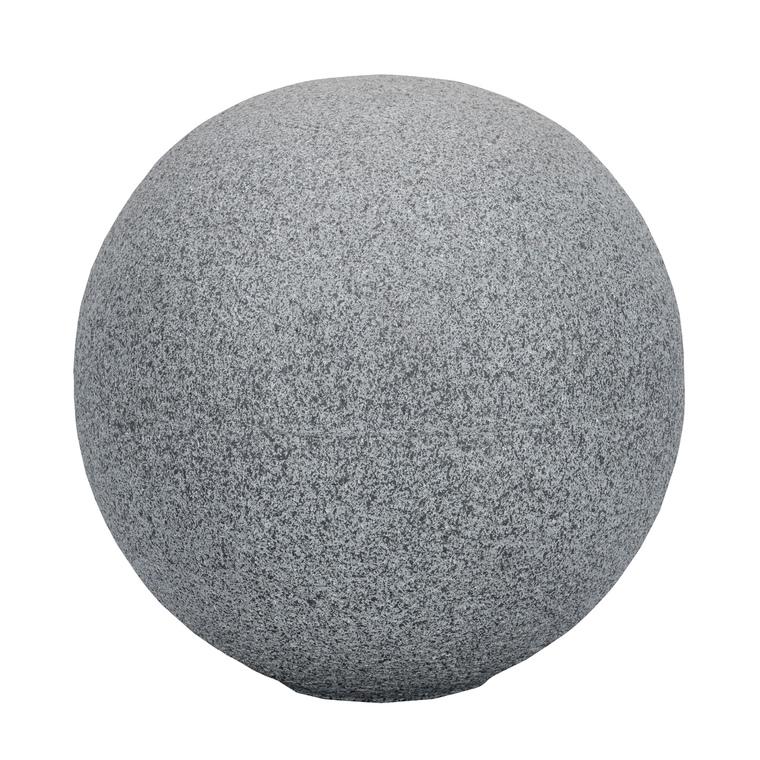Boule de décoration Atlanta diam.25 cm gris