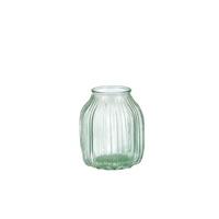 Vase en verre H 13 x Ø 16,5 cm