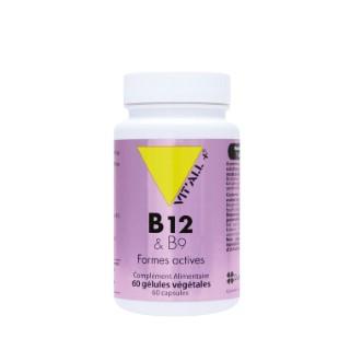 Complexe de vitamines B12 et B9 vit'all + en format de 60 gélules 300862