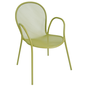 Fauteuil empilable Ronda vert