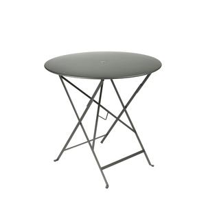 Table pliante ronde couleur Romarin 77 x h 74 cm 300982