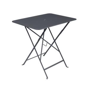 Table pliante rectangulaire couleur Carbone L77xl57xh74 301036