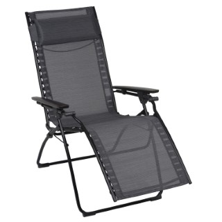 Fauteuil Relax Evolution gris obsidian