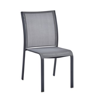 Chaise Carlina grise