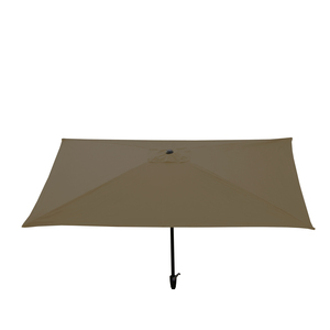 Parasol rectangle 2 m x 3 m couleur sable