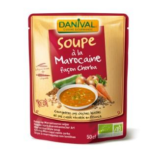 Soupe bio marocaine DANIVAL