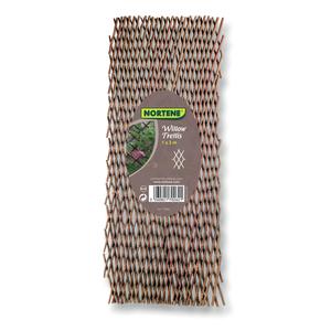 Treillis en osier Willow, 100 x 200 cm