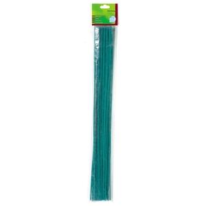 Tuteur bambou coloris vert 0,40 m 308801