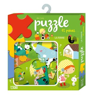 La Ferme Puzzle Ma Boîte à Jeux 3 ans Éditions Lito 309698