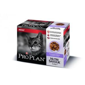 Gelée pour chat adulte à la dinde Pro plan 10 x 85 g 310073
