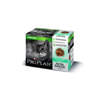 Gelée pour chat stérilisé au poisson Pro plan 10 x 85 g 310076