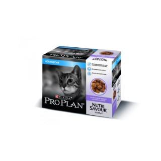 Gelée pour chat d'intérieur à la dinde Pro plan 10 x 85 g 310077