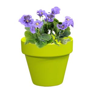 Pot horticole en terre cuite émaillée Anis – D14 x H12 310808