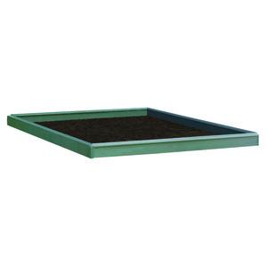 Embase acier pour serre 6,2 m² 311289