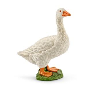 Figurine Oie Série Animaux de la ferme 3,7x4,8x6,5 cm 316009