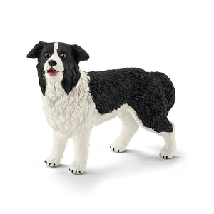 Figurine Border Collie Série Animaux de la ferme 6,2x1,8x4,1 cm 316113