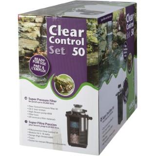 Filtre pression Set Clear Control 50 + Hs 6000