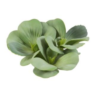 Plante de bassin Pistia verte artificielle - 17 cm