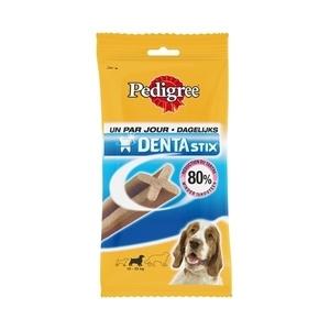 Friandise x7 chien moyen Pedigree dentastix 180g 320096