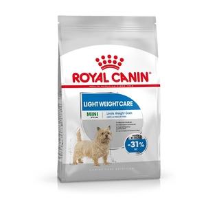 Croquette 8kg Mini adulte light Royal Canin 320279