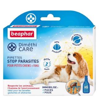 Pipettes pour petit chien DiméthiCARE 6 x 1,5 ml 321775