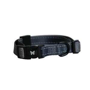 Collier chien réglable 20 mm / 40-55 cm gris 323721