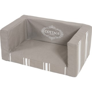 Canapé pour chien cottage L. 55.5 x l. 35.5 x H. 25 cm 334386