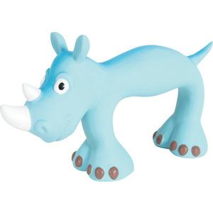 Jouet pour chien en latex slim bleu 21 cm 334391