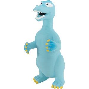 Jouet pour chien en latex dinosaure bleu 26 cm 334393