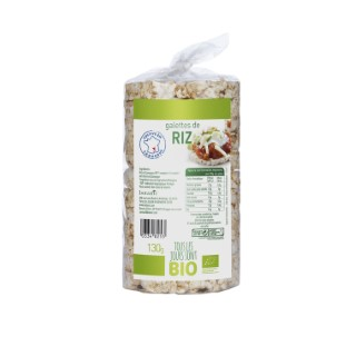 Galettes de riz nature Bio 130 g 334825