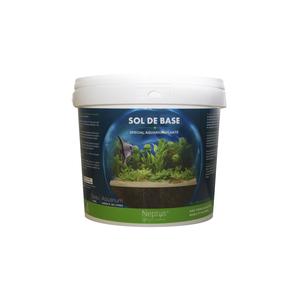 Sol de base pour aquarium