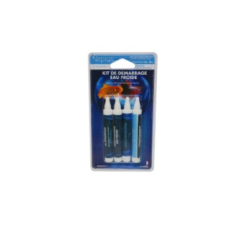 Kit de demarrage poissons rouges et betta - 4 ampoules de 5 ml NEPTUS 335106
