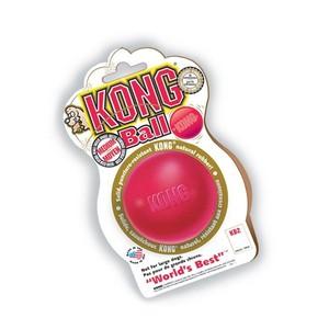 Jouet Chien Kong 6cm ball Medium rouge 33512