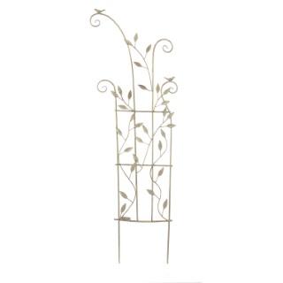 Bordure décorative en métal beige 131 x 43 cm 335232