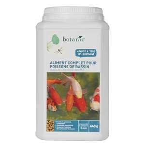 Nourriture pour poissons de bassin Botanic 640 g 335483
