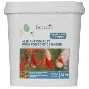 Nourriture pour poissons de bassin Botanic 1600 g